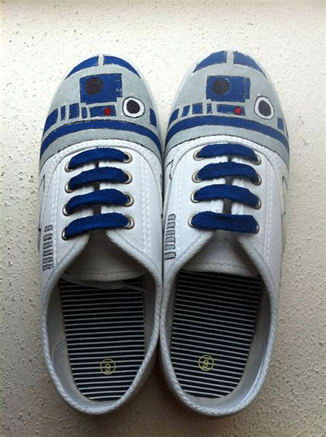 d2 shoes r2 d2 spidey tardis pikachu custom sneakers bit