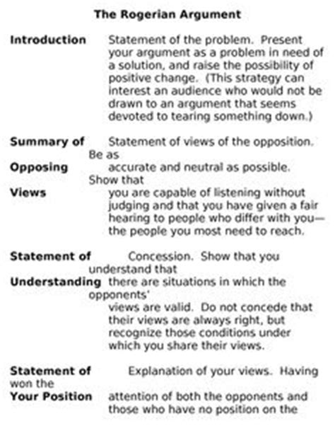 proposal argument layout rogerian argument by alejandra perez thinglink