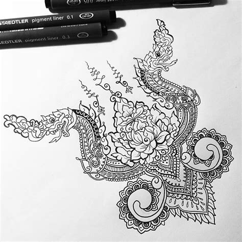 cambodian tattoo designs and meanings instagram post by fayne design