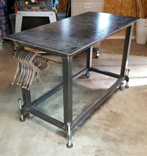 Metal Shop Table by 25 Best Ideas About Welding Shop On Metal