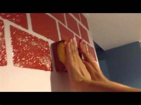 is faux painting out of style how to paint a brick wall