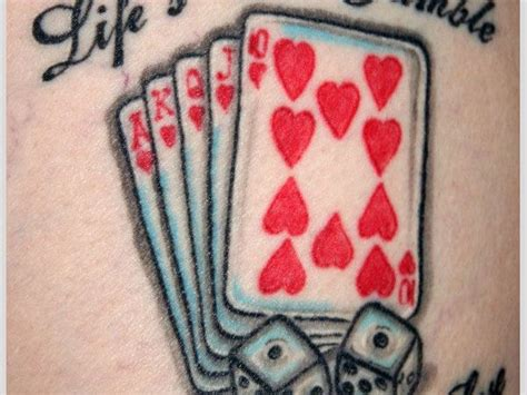 queen of hearts tattoo meaning symbol tattoos card