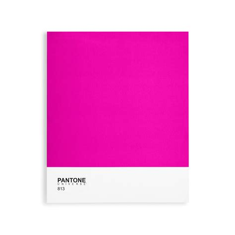 pink pantone classic collection bright pink 813 pantone canvas