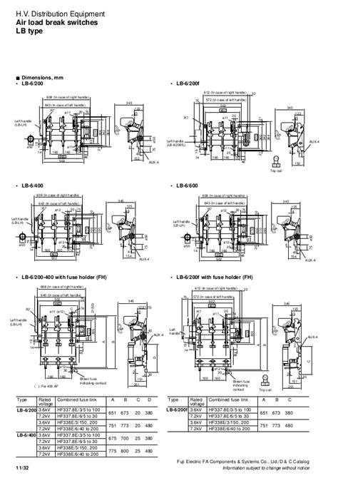 Contactor Shihlin Type S P 11 380 Volt 11 power fuses vt ct fuji electric