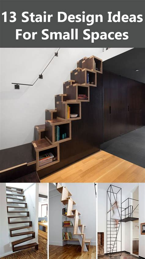 13 Stair Design Ideas For Small Spaces Contemporist   pinterest the world s catalog of ideas