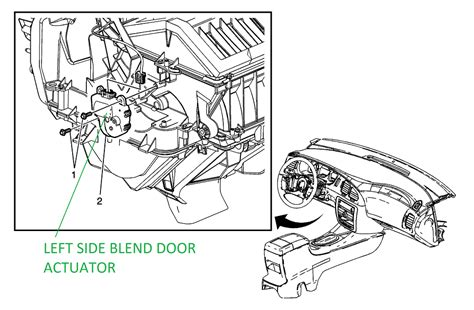 hvac blend door actuator testing solved honda tech service manual how to replace 2010 maybach landaulet blend door actuator 2012 maybach