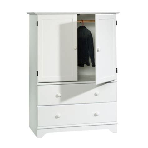 Sauder White Armoire by Sauder Falls Tv Armoire In Soft White House