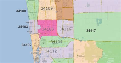 zip code map naples fl naples zip code map naples florida pinterest zip