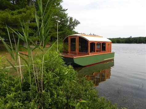 micro house boat 313 best houseboats images on pinterest boat house houseboats and floating house