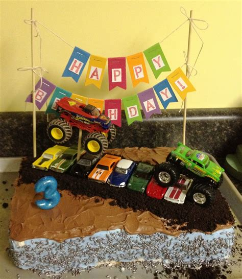 videos de monster truck monster truck cakes decoration ideas little birthday cakes