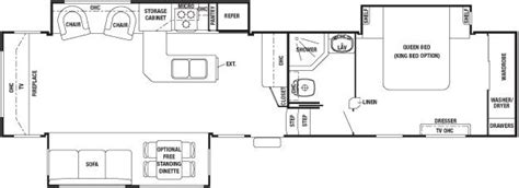 cedar creek rv floor plans 2011 forest river cedar creek 36re fifth wheel southaven ms southaven rv mississippi rv