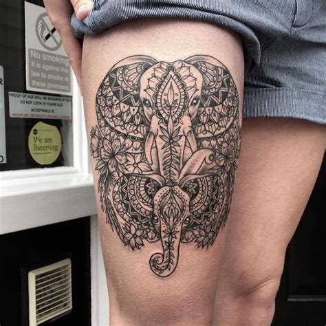 elephant tattoo egyptian 39 best egyptian mandala tattoos for women images on