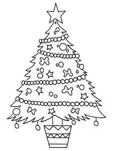 dibujos de navidad arboles dibujo arbol de navidad personificado para colorear