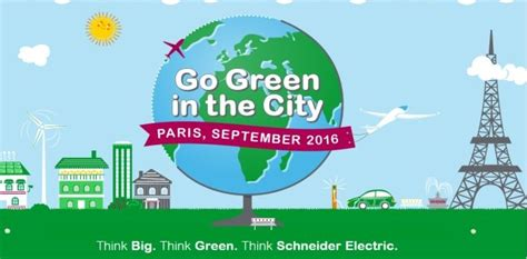 Goinggreen Mba Polymers by 2016 Schneider Electric Go Green In The City Global