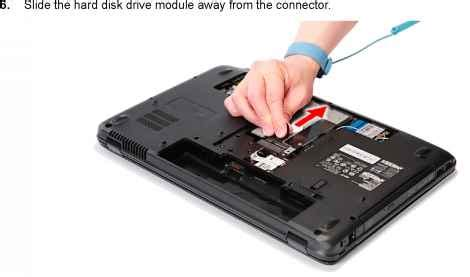 Harddisk External Acer removing the disk drive module acer aspire 5738g 5738zg 5738z 5738 5338 5536 5536g 5236