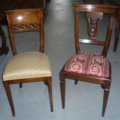 sedie antiche restaurate luciano delpani antiquariato via cacciamali 63 brescia