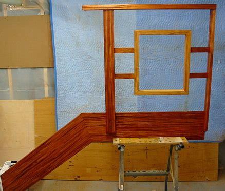 mahogany banister ribbon mahogany banister by rhett lumberjocks com