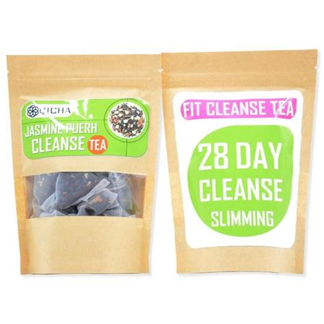 Slim Tea 28 Day Detox Reviews by Fit Cleanse Tea 28 Day Slimming Shapes By Mena