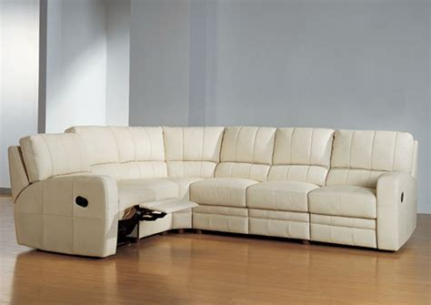 Sectional Sofas With Recliner Leather Sectionals With Recliners Simple Home Decoration