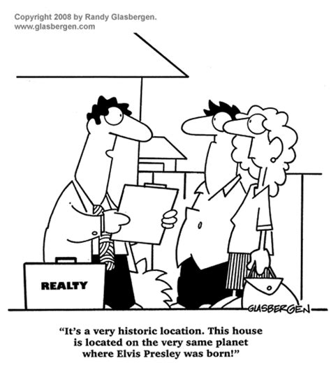 real estate history of a house history randy glasbergen glasbergen cartoon service