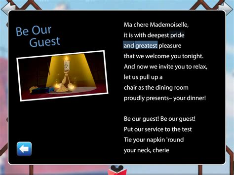 be our guest an country be our guest sing along isource