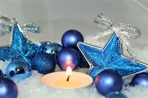 gambar wallpaper bintang biru gambar bintang biru lilin hari natal pohon natal
