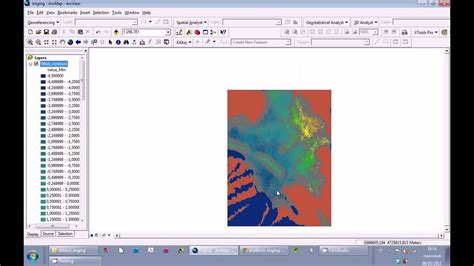 tutorial arcgis 9 3 indonesia tutorial arcgis 9 3 kriging to contour map part 2 youtube