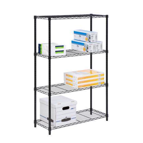 walmart shelving unit 4 tier shelving unit walmart ca