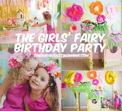 Bday Party Decorations At Home Sophia Sienna S Fairy Birthday Party At Home With Natalie