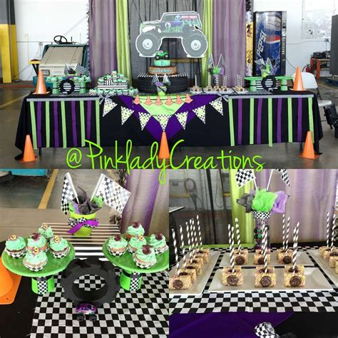 grave digger monster truck party supplies monster jam gravedigger birthday party ideas monster jam