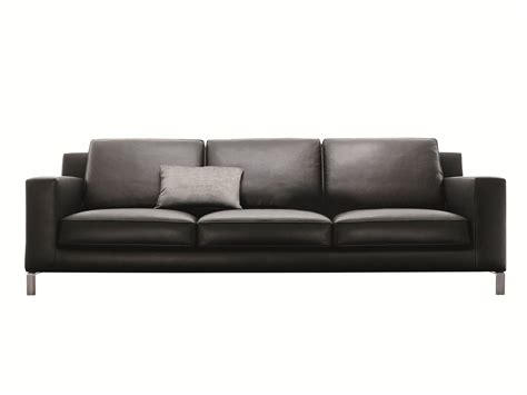 lido leather sofa by molteni design hannes wettstein