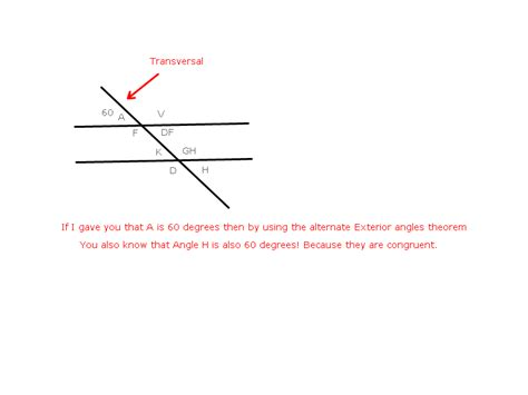 Consecutive Interior Angle by Consecutive Exterior Angles Pictures To Pin On