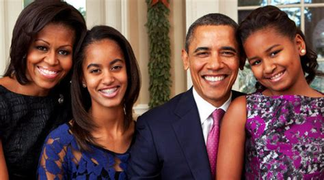 obama first family president barack obama family
