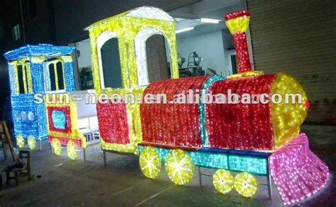 outdoor lighted christmas train buy outdoor lighted
