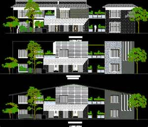 Kerala Style House Designs And Floor Plans country house contemporary style elevation in autocad