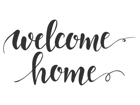 wandtattoo welcome home schriftzug wandtattoos de