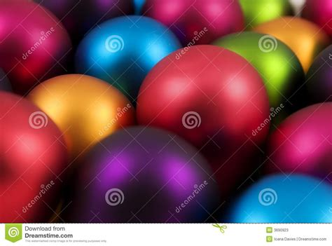 Colorful Baubles by Colorful Baubles Stock Photos Image 3690923