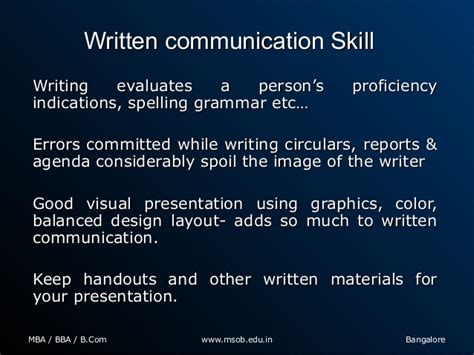 what to write in communication skills in a resume what are the important soft skills required for mba graduates