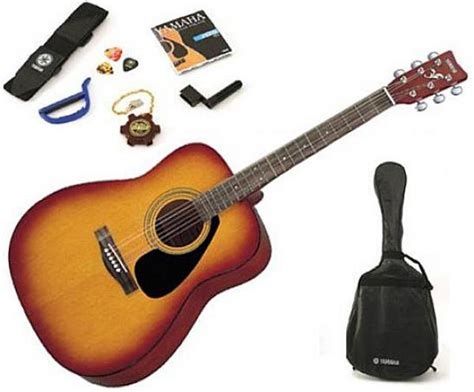 Yamaha Accoustic Folk Guitar F310 Tbs yamaha yamaha f310p tobacco brown sunburst livr 233 chez vous avec s