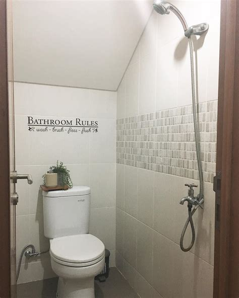 desain kamar mandi ukuran 1x2 31 dekorasi kamar mandi minimalis makin unik cantik 2018