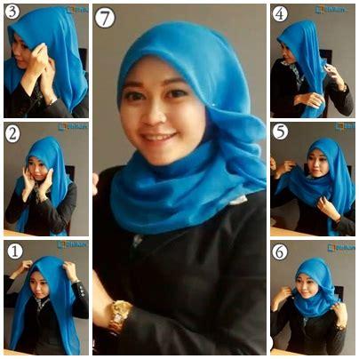 tutorial jilbab segitiga untuk ke kantor hijab style hijab tutorial
