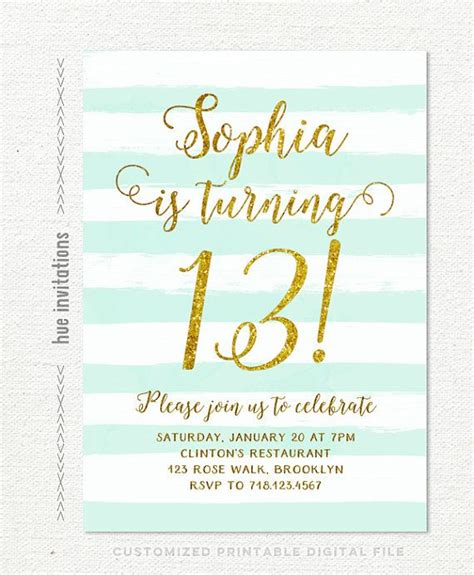 printable birthday invitations for 14 year olds 25 best ideas about teen birthday invitations on