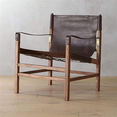 Brown Lounge Chairs by Brown Expat Lounge Chair