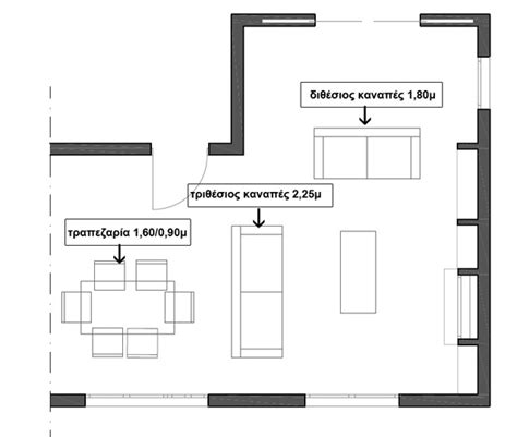 furniture arrangement for l shaped living room