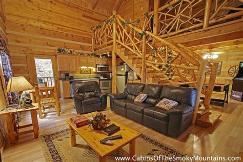 one bedroom cabin in gatlinburg pigeon forge cabin smoky mountain hideaway 1 bedroom