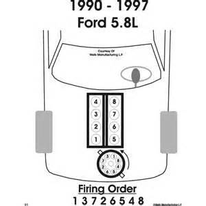 how to fix ford f 150 i need the firing order on a 1993