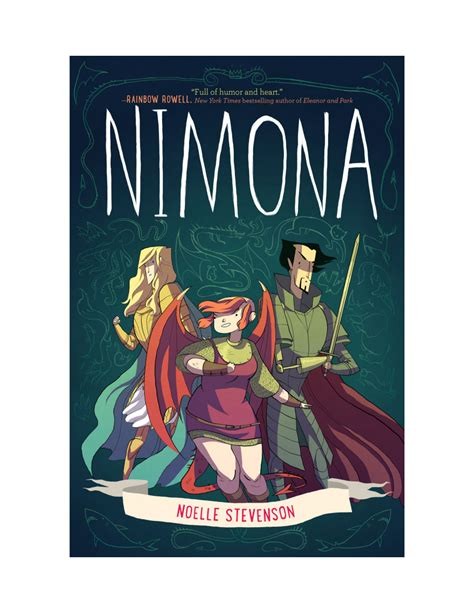 Or Novel Nimona Gingerhaze