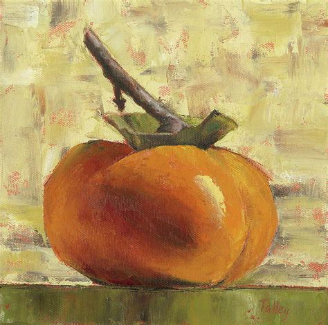 biography of a fine artist tuscan persimmon painting by pam talley