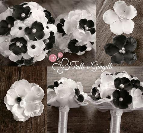 fiori bianchi e neri trilli e gingilli le creazioni di