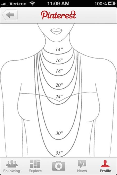 what necklace length would you prefer weddingbee